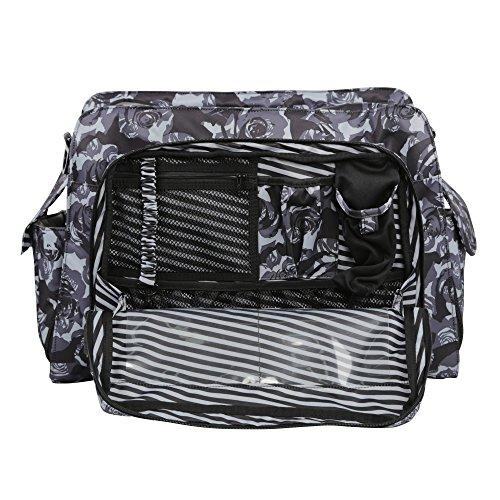 Ju-Ju-Be 15MB01X -bpt-no Size Black Petals teflón Protector de tela