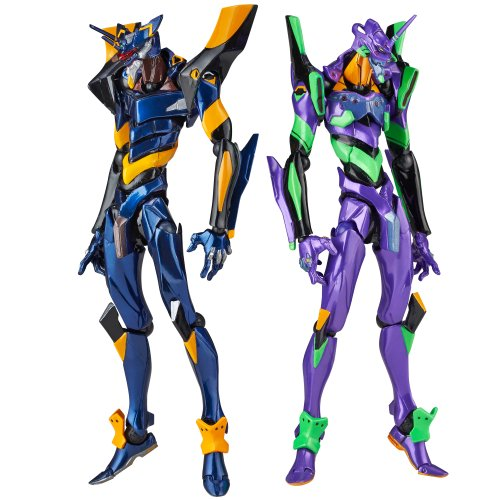Evangelion Eva 01 Test Type - Revoltech Yamaguchi No.EX Evangelion Evolution: EVA-01 Test Type & Mark.06 Special Edition by Kaiyodo