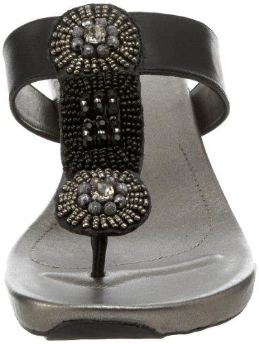 Bandolino Womens Hominy Thong Sandal Black emCCH