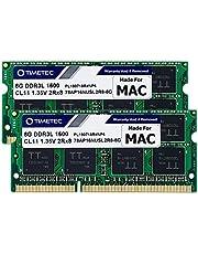 Timetec Hynix IC 16GB KIT (2x8GB) Compatible para Apple DDR3L 1600MHz para MacBook Pro (principios / finales de 2011, mediados de 2012), iMac (mediados de 2011, finales de 2012, principios / finales de 2013, finales de 2014, mediados de 2015), Mac Mini (mediados 2011, finales de 2012)
