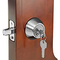 Franklin Standard Door Silver Double Cylinder Deadbolt Lock with Two (2) Keys by Franklin
