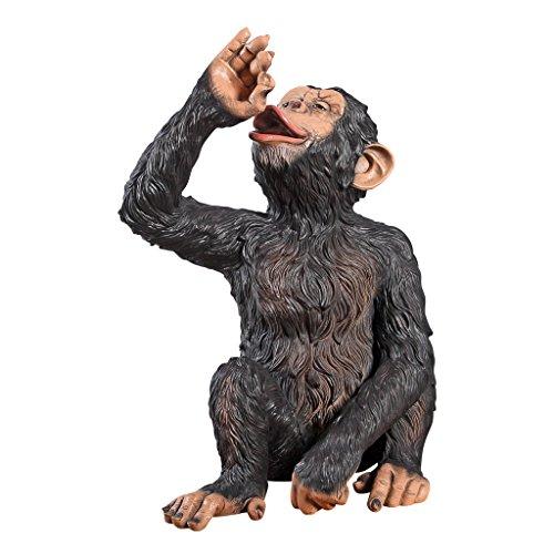 Design Toscano Anisetta Liqueur Drinking Monkey Statue