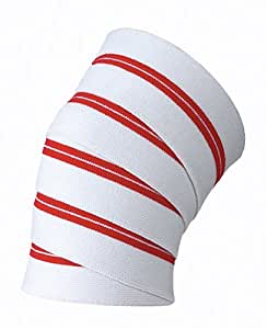 Valeo Red Line 78-Inch Long Knee Wrap To Improve Core Strength, Balance, Coordination, Flexibility and Endurance