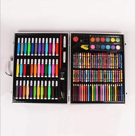 WENZHEN 150 Juego de Pinceles para niños Acuarela Pluma Suministros de Arte lápiz crayones Pintura al óleo en Colores Pastel Pincel Digital: Amazon.es: Hogar