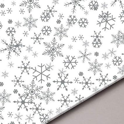 """Christmas Snowflake Acid Free Tissue Paper Sheets 50cm x 35cm 18gsm  20/"""" x 14/"""""""