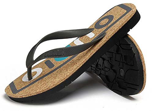 men's shoes summer daily casual 2017 letters 43 sandals beach drag 3 alphabet printed tide vqwBPg