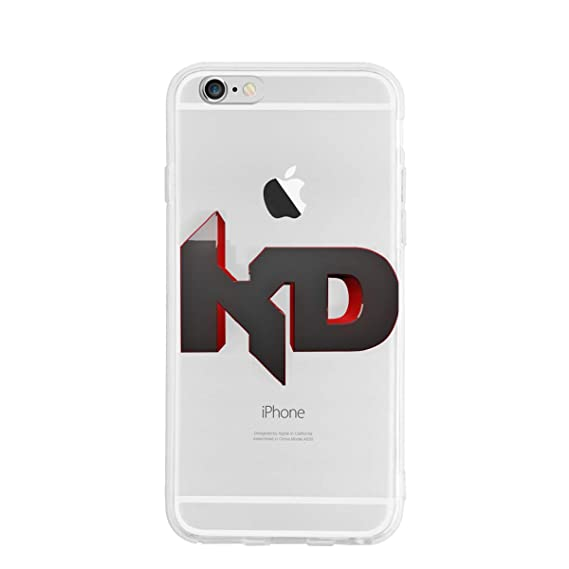 online store 5d544 40180 Amazon.com: iPhone 6/6s Case Art-KD-Durant- High Impact Flexible ...