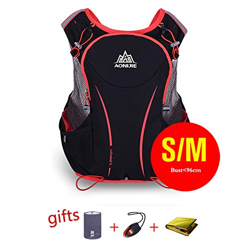 Cheap AONIJIE Hydration Backpack Running Vest Pack 3 Women Men Outdoor Sports Hiking Climbing Bicycling,S/M