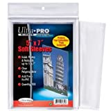 Ultra Pro Card Photo Picture Soft 5 x 7 Sleeves Pack of 100 x 5 (500) 5x7