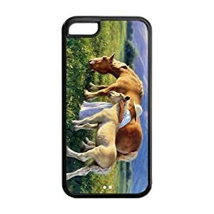 Painted Horse TPU Hard back phone Case cover iphone 6 plus 5.5''