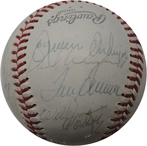 (Tom Seaver Tommy Lasorda Steve Carlton Foster Plus More MLB Signed Baseball)