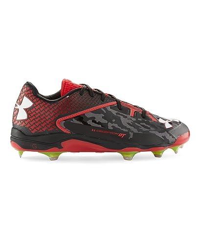 38df90b79bea Under Armour Men's UA Deception Low DiamondTips Baseball Cleats 7.5 Black:  Amazon.co.uk: Shoes & Bags