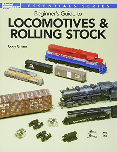 Beginner's Guide to Locomotives & Rolling Stock Model Railroad Rolling Stock