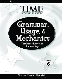 amazon com teacher created materials time for kids grammar rh amazon com free mechanic book time guide free mechanic book time guide