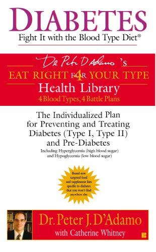 Amazon diabetes fight it with the blood type diet eat right 4 diabetes fight it with the blood type diet eat right 4 your type fandeluxe Gallery