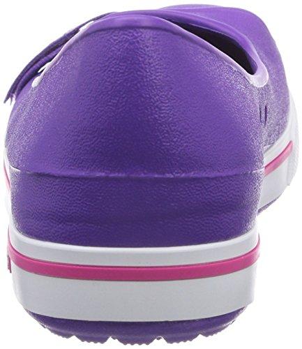 Crocs Crocband 2.5 - Bailarinas de sintético para mujer Rosa (Neon Purple/Candy Pink)