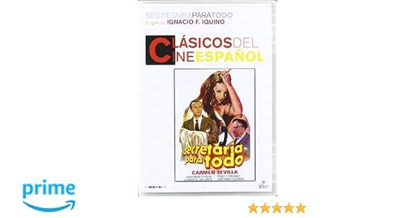 Secretaria para todo [DVD]: Amazon.es: Trini Alonso, Antonio ...