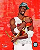 Chris Bosh Miami Heat 2012 NBA Championship Trophy 8x10 Photo