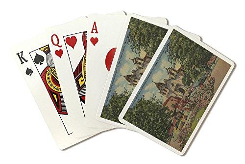 Carmel, CA - Mission San Carlos De Borromeo Del Carmelo (Playing Card Deck - 52 Card Poker Size with Jokers)