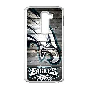 Eagles White Phone Case for LG G2