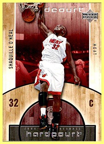 2005-06 Upper Deck Hardcourt #45 Shaquille O'Neal MIAMI HEAT LSU TIGERS