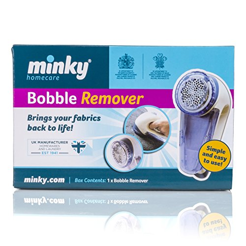 Minky Bobble Remover, White