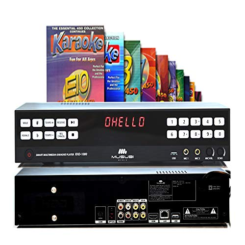 (MUSUBI MEDIA KHD-1000 INNOVATIVE SMART MULTI HDD KARAOKE PLAYER - 2TB - With 4500 English songs)
