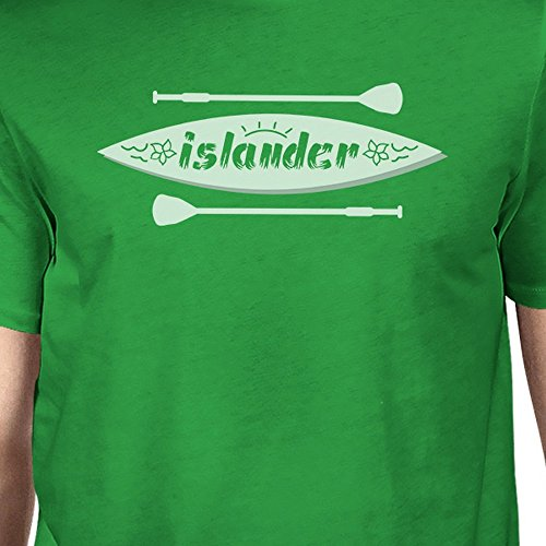 Manches shirt Printing Mens Courtes Shirt T Homme Taille Unique Islander Green 365 qUxt4w4