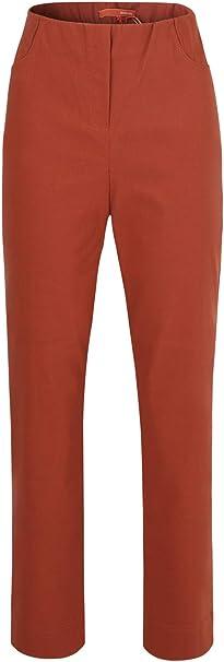 TALLA 36. Stehmann - Pantalones de mujer LOLI-742, cómodos, con pierna estrecha