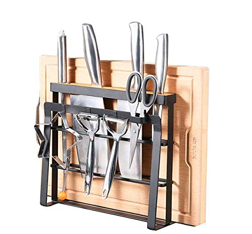 HOLYMOOD Kitchen Houseware Organizer Knife Block Storage Dry
