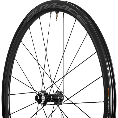 SHIMANO Dura-Ace 9170 C40 Carbon Disc Brake Road Wheelset - Tubeless Centerlock, 12x100/12x142