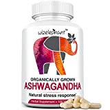 Organic Ashwagandha from India. Extra Strength. Root Powder Veg Capsules. 50-Day Supply. Anti-Anxiety – Stress Relief – Mood Enhancer – Hormonal Balance – Thyroid Support – Better Sleep Review