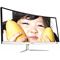 WASABI-MANGO 340UC REAL HDMI 2.0 HDR 34 Inch 21:9 Curved Cinema Wide/VA WQHD (3440x1440) HDR Compatible Monitor