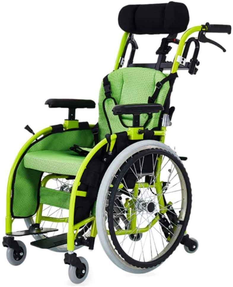 Amazon.com: Silla de ruedas para niños de uso médico, ligera ...