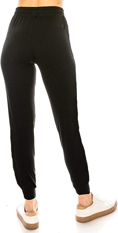 FITTOO Damen Baggy Hose mit Kordelzug und Taschen Jogginghose Lang Sweathose Sporthose Trainingshose Running Gym Pants
