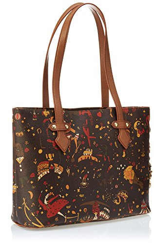 Piero Guidi 2145w4088, Borsa Tote Donna Marrone (Cuoio)