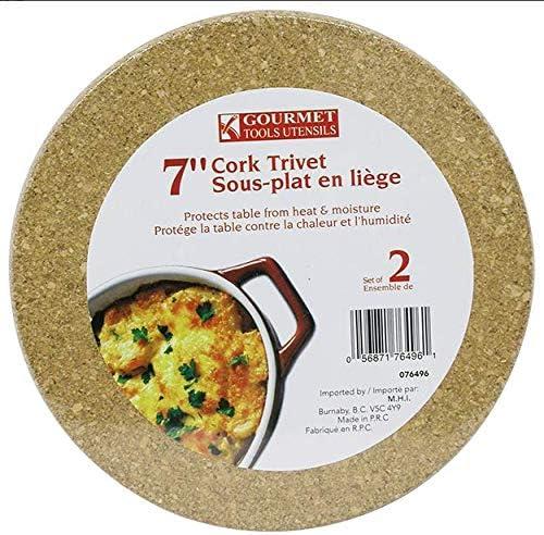 Gourmet Tools Utensils 7 Cork Trivet