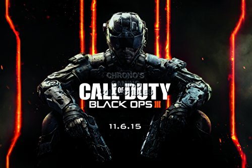 CGC Huge Poster - Call of Duty Black ops III PS3 PS4 XBOX 360 ONE - COD029 (24