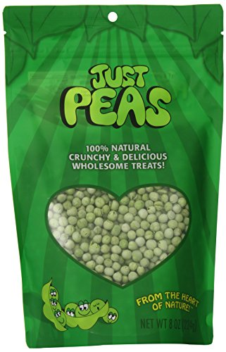 Just Tomatoes Just Peas (8-Ounce), Large Pouch (Pack of 2)