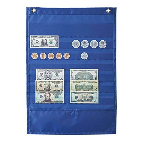 CARSON DELLOSA DELUXE MONEY POCKET CHART (Set of 6)