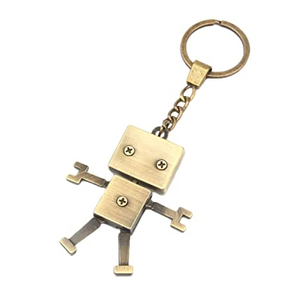 P Prettyia Estilo Retro Creativo Exquisito Robot Bolsa ...