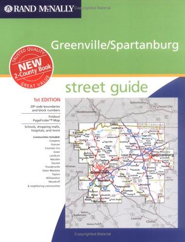 Download Rand Mcnally Greenville/Spartanburg: Street Guide ebook