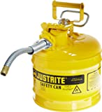 Justrite 7220220 AccuFlow 2 Gallon, .3 Size, 9.50