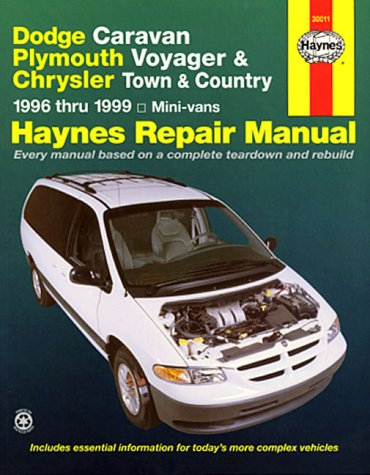 - Haynes Dodge Caravan, Plymouth Voyager and Chrysler Town and Country Mini-vans (96-02) Manual (30011)