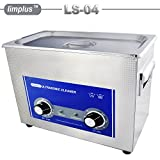 limplus 4liter LS-04 Industrial Ultrasound Transducer SUS Ultrasonic Cleaner 180W 40kHz