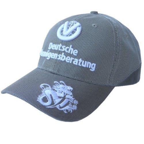 (Michael Schumacher Grey DVAG Comeback Hat)