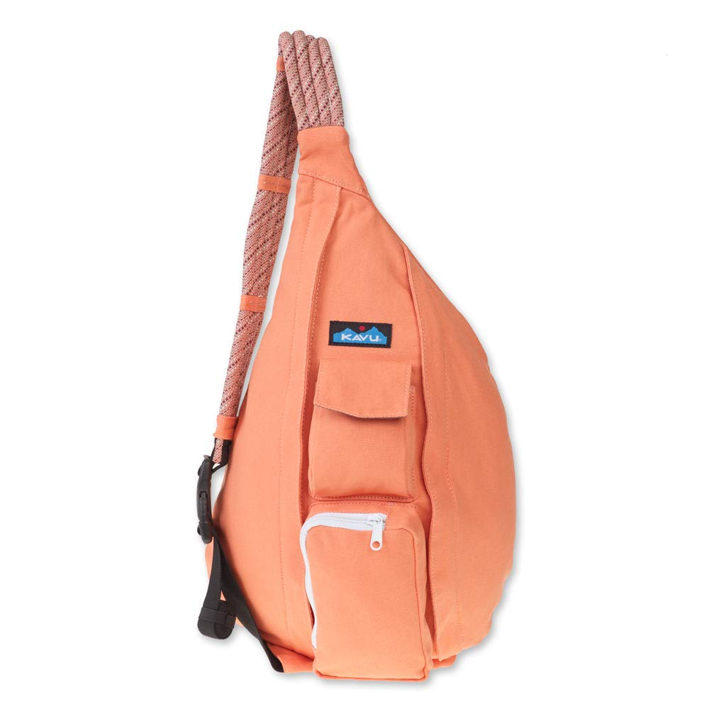 KAVU Rope Bag - Compact Lightweight Crossbody Sling - Peach by KAVU
