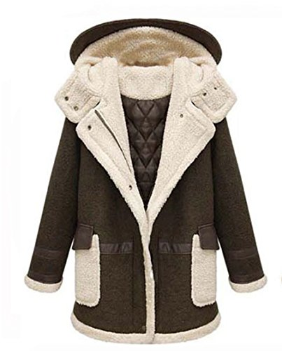 Manteau Longues Laine Mode Blansdi de Femme 1Pntxw0S