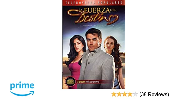 Amazon com: La Fuerza Del Destino: David Zepeda, Sandra