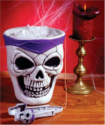 UPC 023168083654, Skull Ice Bucket